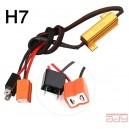 Zaťažovací odpor pre H7 LED diódy 50W 6Ohm 12V