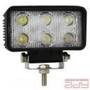 Pracovné LED svetlo AWL02 6 LED FLAT 9-60V