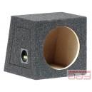 Box na subwofer 25cm uzavretý 20L šedý
