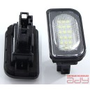 LED osvetlenie ŠPZ do vozidla Mercedes C W203 iba sedan 70mm x 34mm